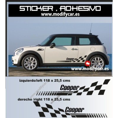 Bandas laterales MINI Cooper