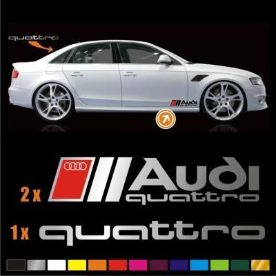 Vinilos Audi Quattro