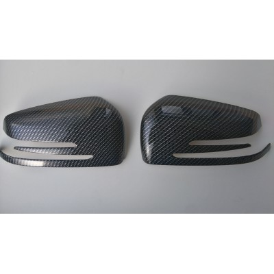 Retrovisores efecto carbono Mercedes