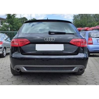 Difusor trasero Sline look Audi A4 B8