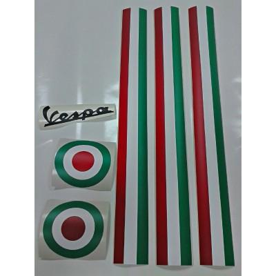 Kit de vinilos Vespa Italia