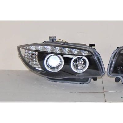 Faros Delanteros Luz De Dia BMW E87/E81/E82/E88 07-11 Black
