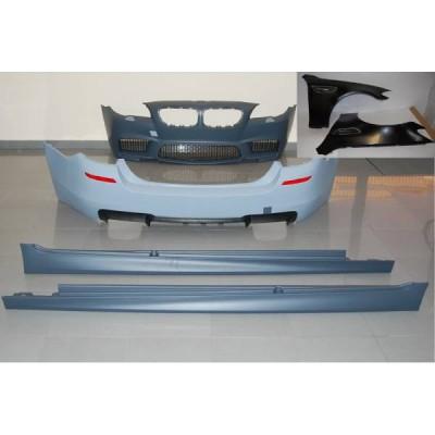 Kit De Carrocería BMW F10 10-12 Look M5 Con Aletas