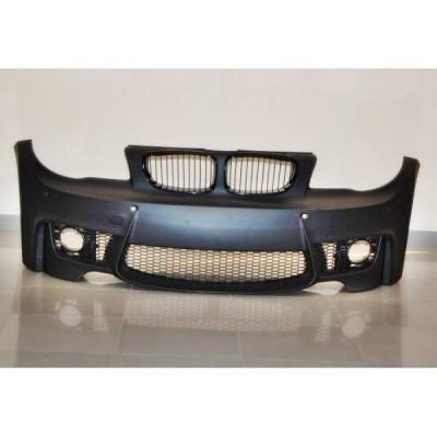 Paragolpes Delantero BMW E82/E88/E87/E81 Look M1 05-11 Sensores