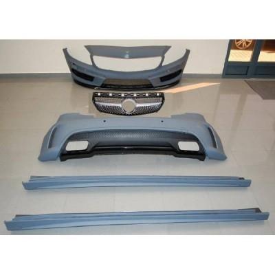 Kit Carrocería Mercedes W176 A45 2012-2015 Look AMG Sensor Parrilla