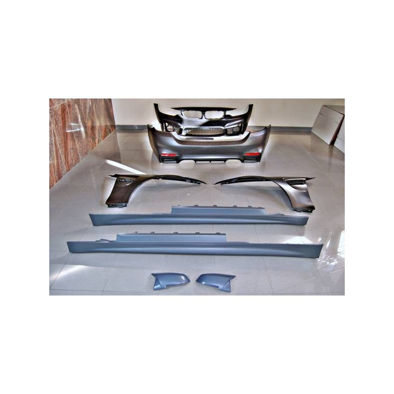 Kit De Carrocería BMW F32 Look M4 Aletas Carcasas