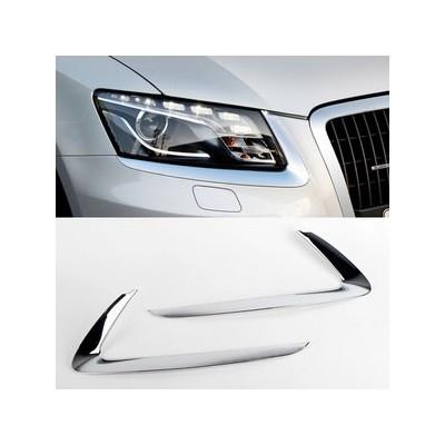 Molduras cromadas faros Audi Q5