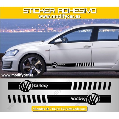 Bandas laterales VW Racing