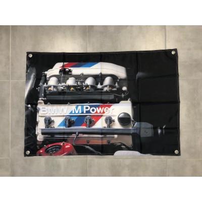 Bandera Decoracion motor M3 E30