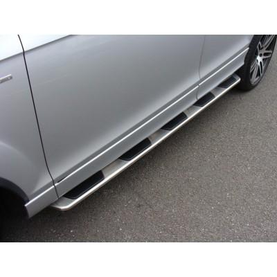 Estriberas laterales Audi Q7