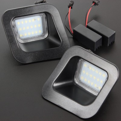 Led matricula Dodge Ram