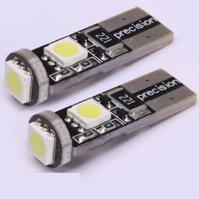2 bombillas led T10 canbus 5050SMDx3
