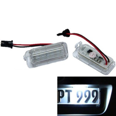 Luces led de matricula para Jaguar