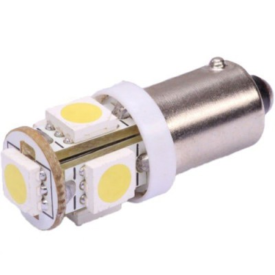2 bombillas led BA9S 5050SMDx5