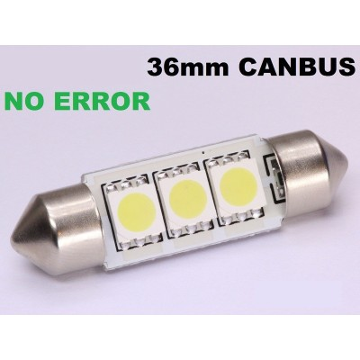 2 bombillas led 36mm canbus 5050SMD