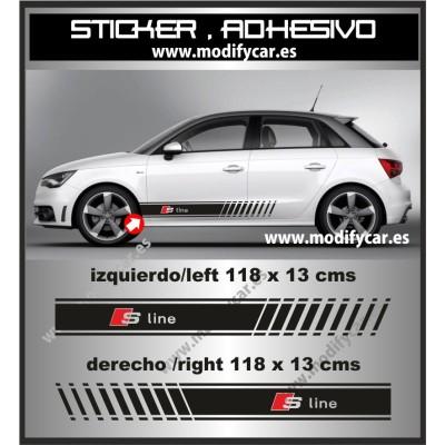 Bandas laterales Audi