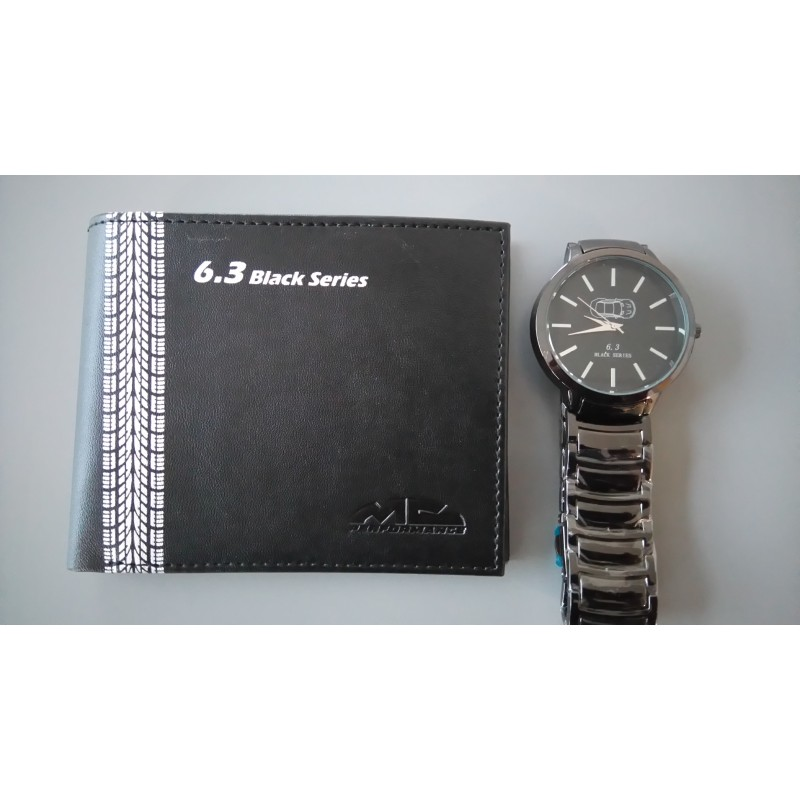 Pack Cartera+Reloj 6.3 Black Series