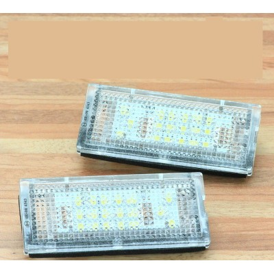 Luces led de matricula BMW