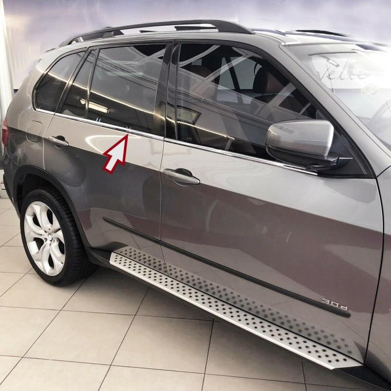 Molduras de ventana BMW X5 E70 cromo