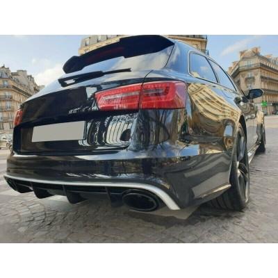 Difusor S6 look Audi A6 C7 prelift