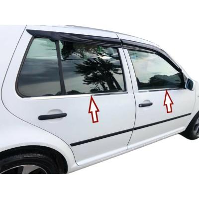 Molduras de ventana VW Golf 4 IV 4 puertas