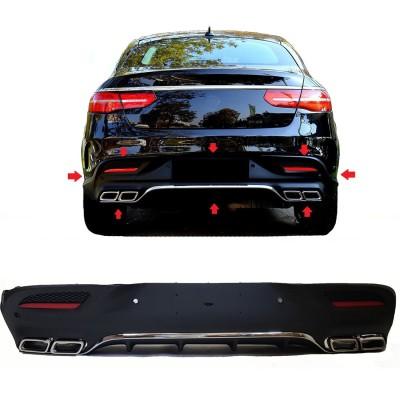 Difusor compatible con Mercedes-Benz C292 coupé GLE cromo