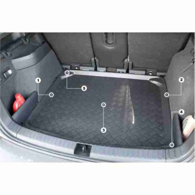 ALFOMBRILLA CUBREMALETERO BMW SERIE 3 E36 FAMILIAR 1996-1999