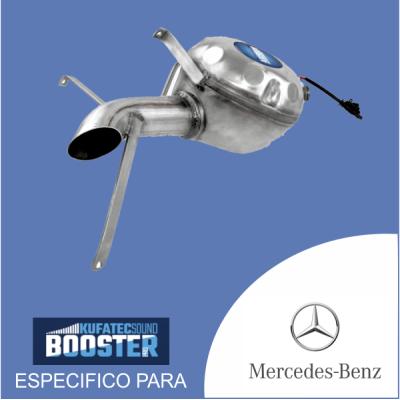 Sound booster pro - para mercedes kit especificos