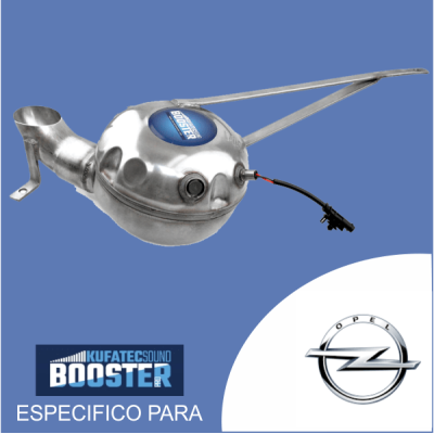 Sound booster pro - para opel kit especificos