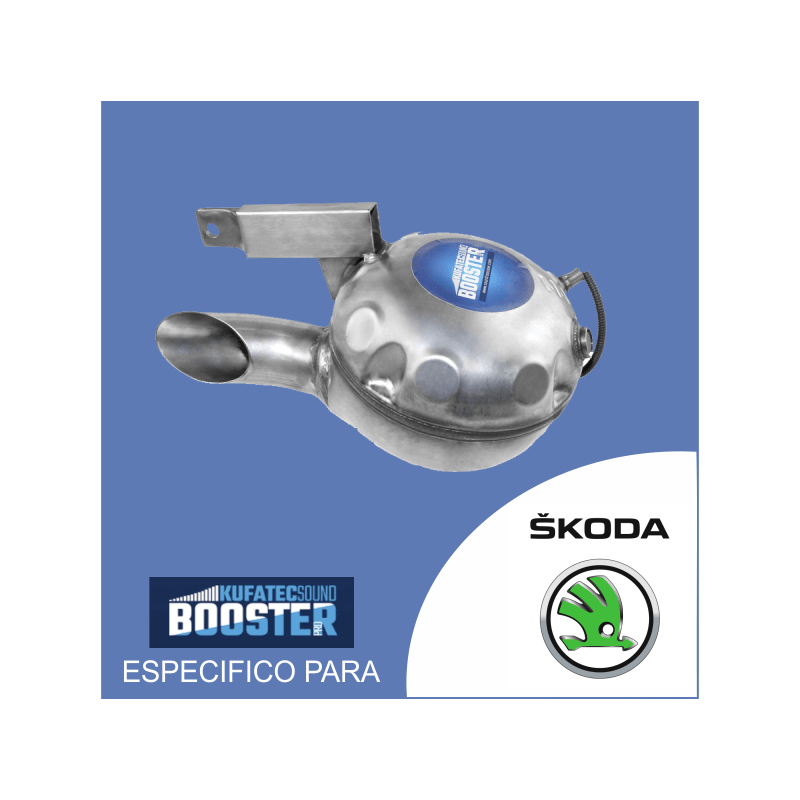 Sound booster pro - para skoda kit especificos