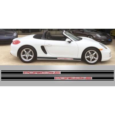 Bandas 210x9 cm para Porsche