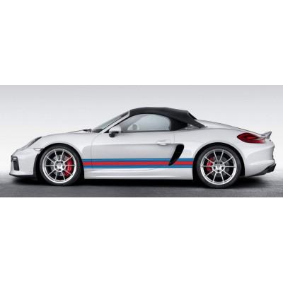 Bandas 210x10 cm para Porsche Martini Racing