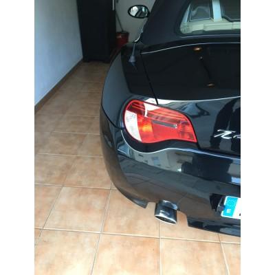 Cola de escape BMW Z4 E85 E86