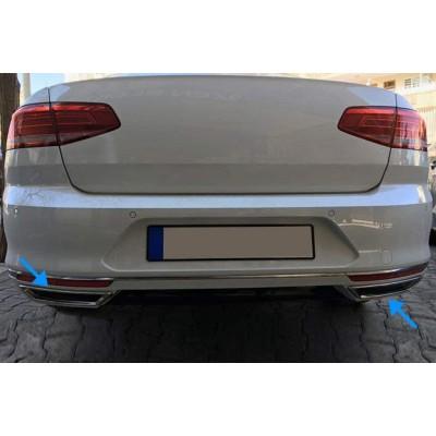 Embellecedores escape para VW Passat B8