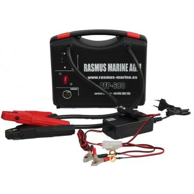 Arrancador de baterias profesional Rasmus Marine PFP680 - 12V