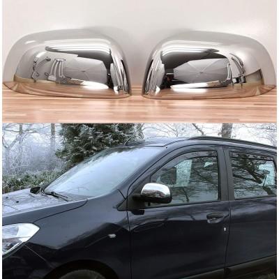 Carcasas Retrovisores Cromados Dacia Duster II desde 2018