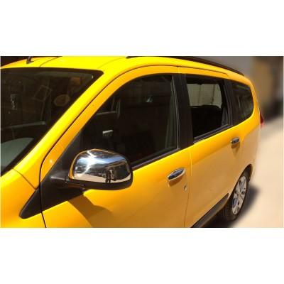 Carcasas Retrovisores Cromados para Dacia Lodgy