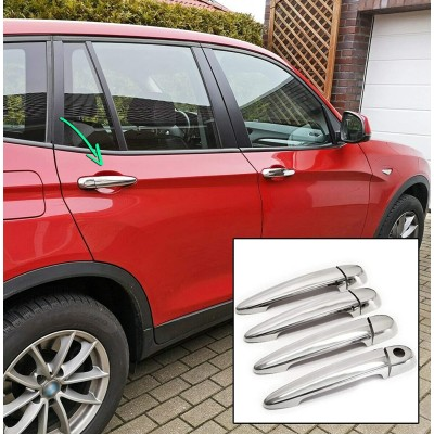 Tiradores de puerta para BMW X4 (Carrocería F26) - 2014-2018 Cromados
