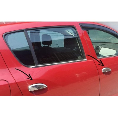 Tiradores de puerta para Dacia Duster II - 2018+ cromados