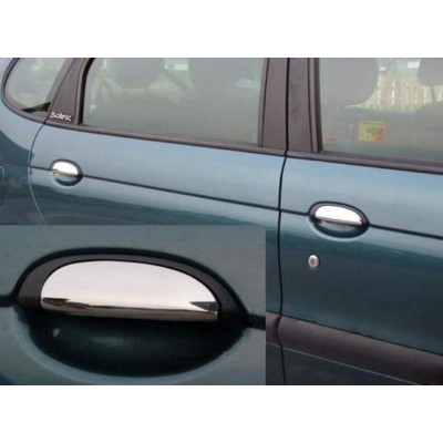 Tiradores de puerta para Renault Clio II - 1998-2005 cromados