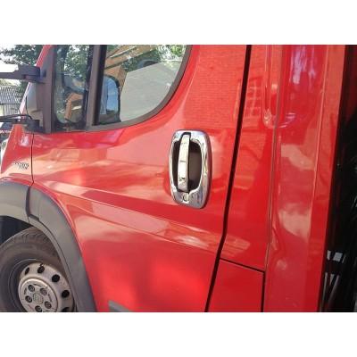 Tiradores de puerta para Citroen Jumper II 2006+ cromados