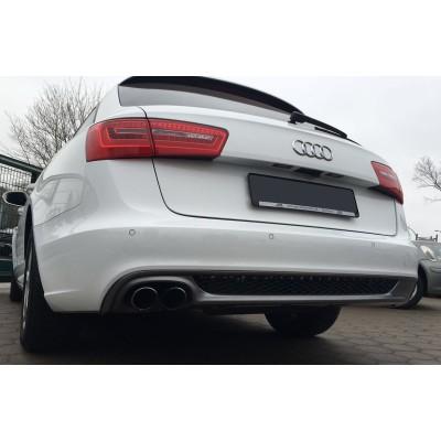 Difusor trasero look Sline Audi A6 C7