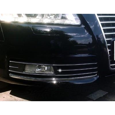 Listas antiniebla cromo Audi A6 C6