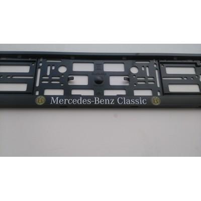 Portamatriculas Benz Classic