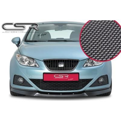 Spoiler delantero Seat Ibiza 6J look carbono