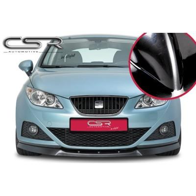 Spoiler delantero Seat Ibiza 6J negro brillo