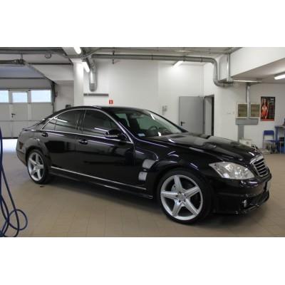 Spoiler Mercedes Clase S