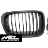 Calandra negra mate BMW E46 98-01