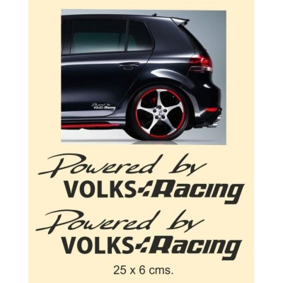 Vinilos VW Racing