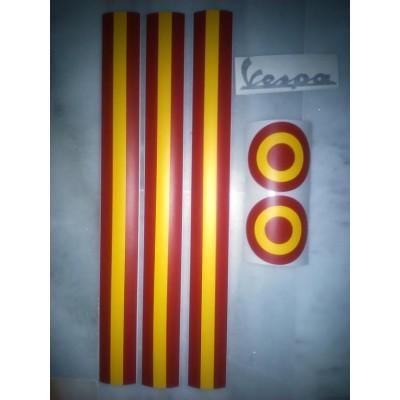Kit de vinilos Vespa España